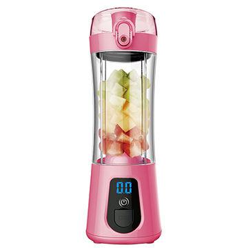 Portable USB Blender Juicer Cup six blades Fruit Shake Smoothie Baby Food Mixing Machine