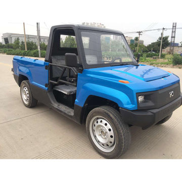 China Electric cars mini electric pickup trucks, 4kW, 72V, max range 100km, top speed 50kph