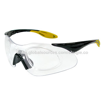 Taiwan Trendy Safety Glasses, Sporty Temple Grips, RX Insert, Non ...