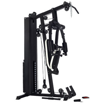 Functional folding portable home gym equipment for training