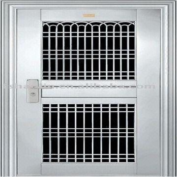 Stainless Steel Front Door Design Jh108 Global Sources