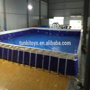 Giant Outdoor Metal Frame Pool/Above Ground Swimming Pool | Global ...