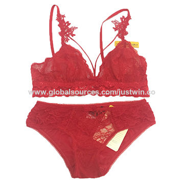 fd8cec1e6 China Ladies Sexy Lingerie Sets with Lace And Mesh Embroidery Underwear Sets  ...