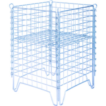 ... China Heavy Duty Equipment Galvanized Metal Storage Cages/Logistic Cart  Trolley Container ...