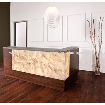 ... China Acrylic Resin With Solid Surface Countertops And Vegetation  Lamination ...