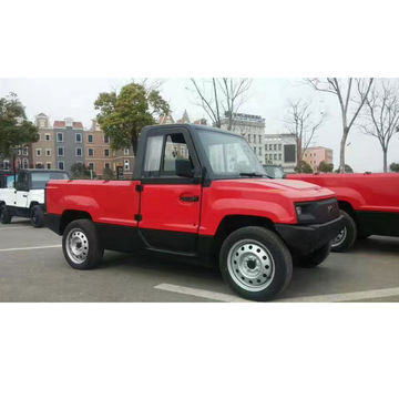 China Electric Cars Mini Pickup Trucks 4kw 72v Max Range 100km