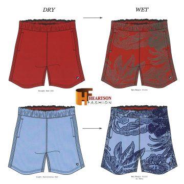 4f0bdc04e8f Bangladesh 100% Polyester Men s Boys Swimwear with Magic Print