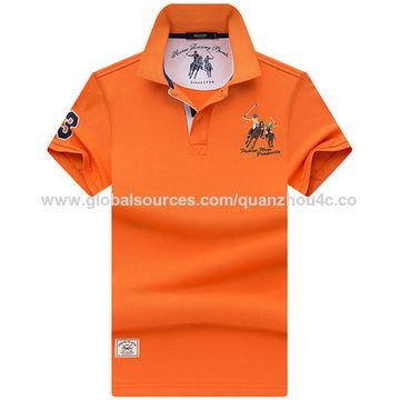 China Men's breathable and comfortable polo shirt