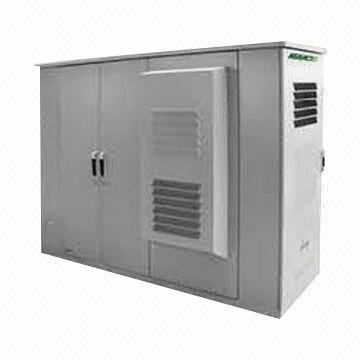 Outdoor Communication Metal Sheet Telecom Cabinet with Electric ...
