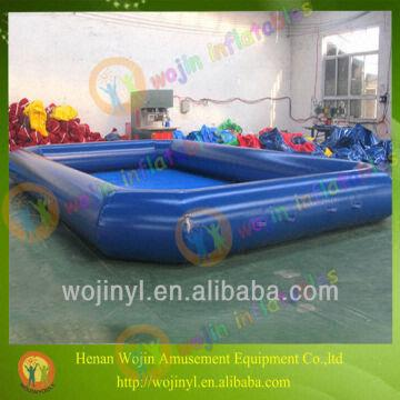 China Inflatable Kids Swimming Pool Water Park Swim Plastic