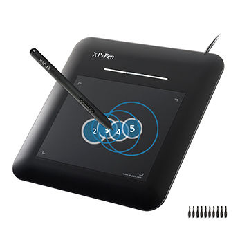 XP-Pen G540 5 5 x 4 inches Graphic Drawing Tablet with