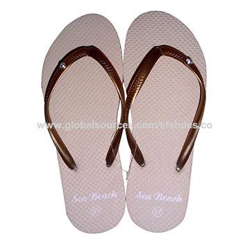 dbd6ae9f2 China Best Selling Fashion Wholesale Bulk Price OEM Personalized Beach  Ladies  PE Flip-flops