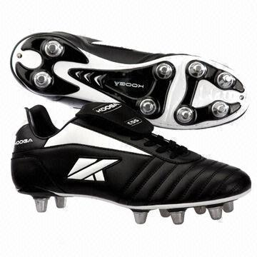 rugby boots metal studs