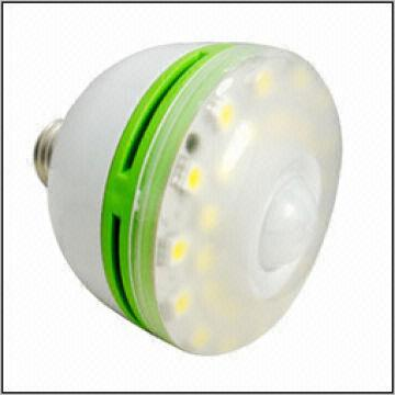 ... China Bathroom motion sensor light,light sensor switch LED bulb