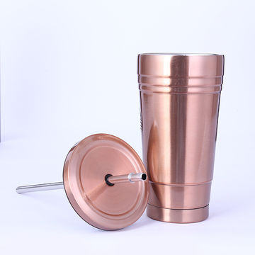 52dcc9dcc7b Stainless steel coffee straw mug