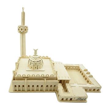 3d Models Famous Buildings, Wooden 3D Puzzle, OEM Orders are