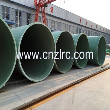 FRP GRP Gre RTR Pipe with Low Temperature Capabilities, Good