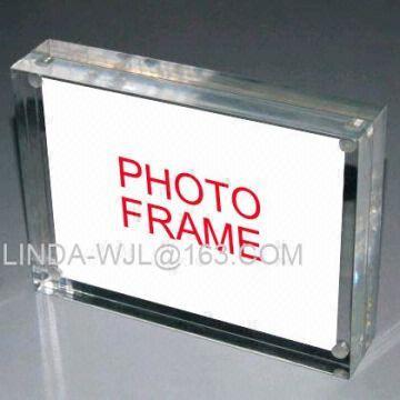 Acrylic Photo Frame Acrylic Magnet Picture Frame Plastic Photo