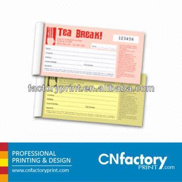 Invoice Book Carbonless Paper Duplicate Printing Triplicate Global - Carbon invoice book printing