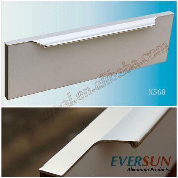 Extruded Aluminum Profile Cabinet Handle China Extruded Aluminum Profile  Cabinet Handle