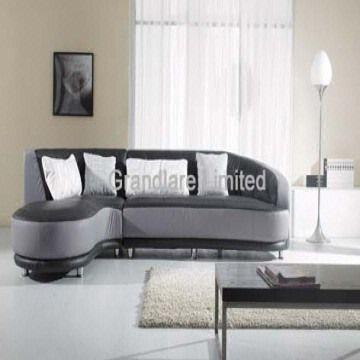 Modern Style Real Leather Corner Sofa Set European style leather ...