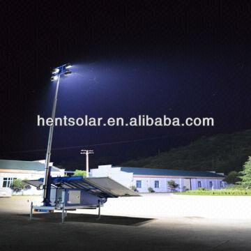 ... China Industrial Portable Mobile Solar Lighting Tower LED l&s and High Mast & Industrial Portable Mobile Solar Lighting Tower LED lamps and High ...