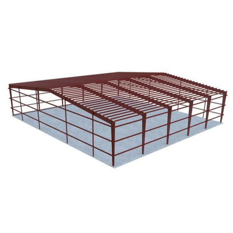 China Steel structure steel frame factory workshop from Shijiazhuang ...