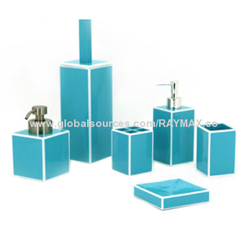China Bathroom Sets W Tumbler Toothbrush Holder Soap Di