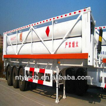 Compressed Natural Gas Jumbo tube Container for Gas Transport and