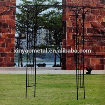 China Metal Garden Arch Designs Garden Arch With Flat Top Garden Flower  Arch AH090005