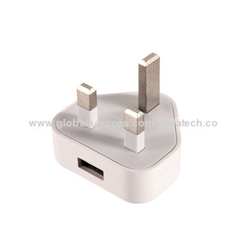 China Mobile phone charger for iPhone and related devices UK 3 pin plug with high quality