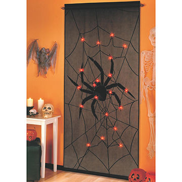 halloween decorations lighted panel