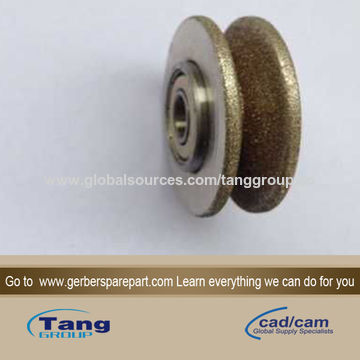 China 7250 Gerber Grinding Stone, Wheel, 80 GRIT, S-91/S-93-7/S7200