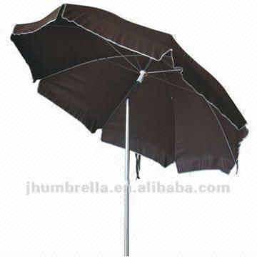 China Uv Umbrella General Use Outdoor Furniture Type Beach Pole Material