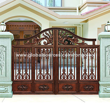 High Quality China New Develop Elegant Design Of House Gate From China Supplier