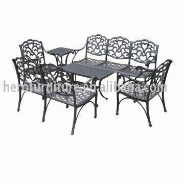 Deep Seating Cast Aluminum Patio Furniture Set Global Sources