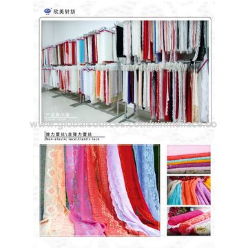 China Cotton Fabric for Women's Dress, Made of 50% Nylon and 50% Cotton