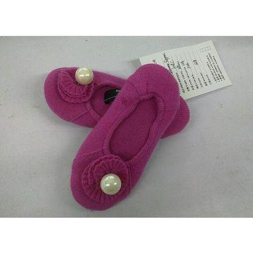 China 100% cashmere kids' shoes