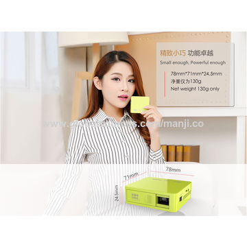 China Mini Projector, 854*480 DLP MG50 with CE RoHS FCC BIS
