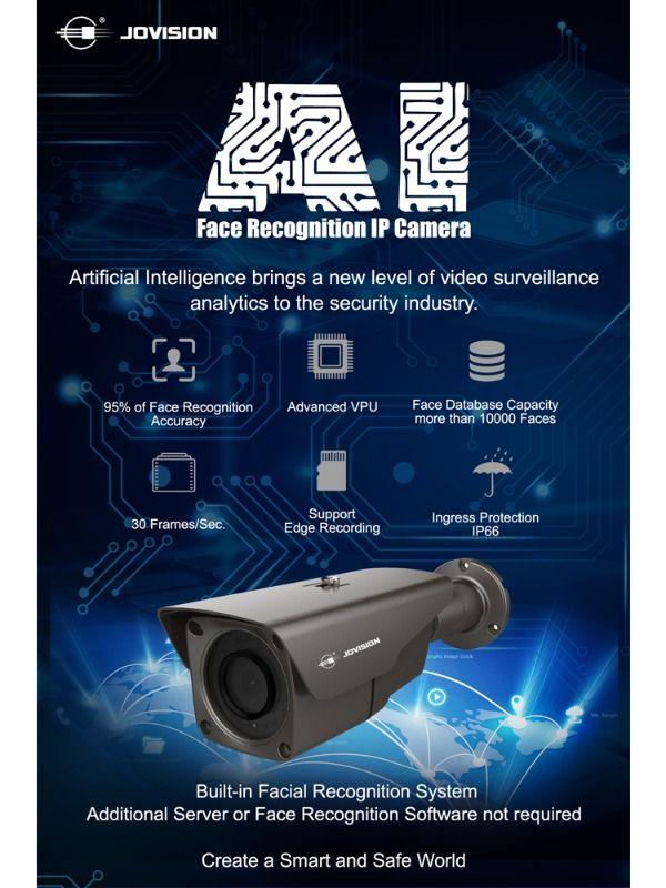 AI Camera, Facial Recognition Camera, IP Camera