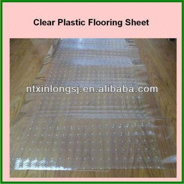 Clear Plastic Flooring Sheet China
