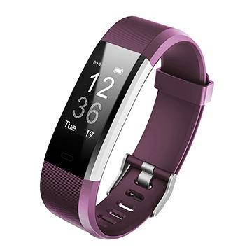 China Waterproof Fitness Tracker Heart Rate Monitor Smart Bracelets Pedometer Wristband