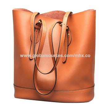 0cd18b2cec leather purse messenger backpack hand bag tote brown 3way handbag ...