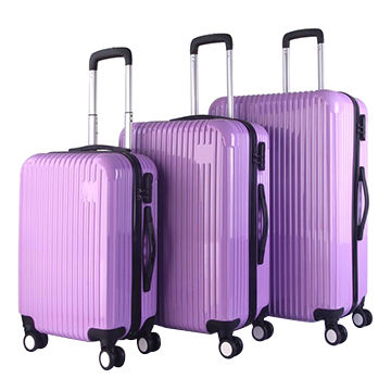 b02df5f49128 China ABS polo trolley luggage set from Shanghai Trading Company ...