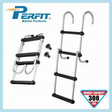 pontoon ladder 1 Aluminum 6061-T6 tube 2 Wide,injection