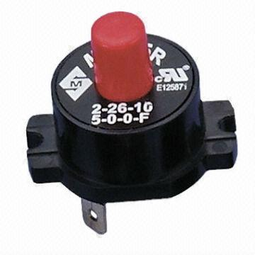 M 9005 series overload protector thermal controls for Motor thermal overload protection