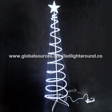 China led spiral tree6ftwhite led rope lights 110220v or 24v china led spiral tree6ftwhite led rope lights 110220v or aloadofball Gallery