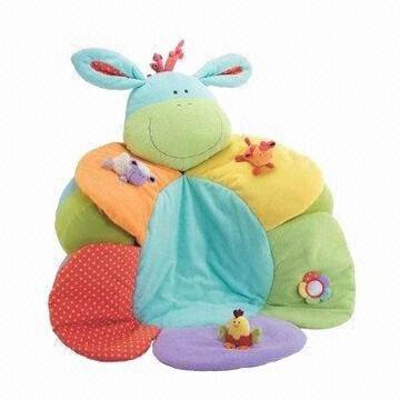 ELC Blossom Farm Sit Me Up/Cosy Baby Seat/Play Mat/Nest with ...