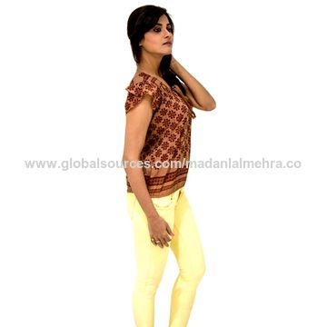 5275071207c8 India Overlap sleeves blouse from Mumbai Manufacturer  M s. Madanlal ...
