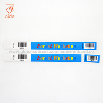 graphic regarding Printable Tyvek Wristbands titled Style and design Tyvek Wristbands